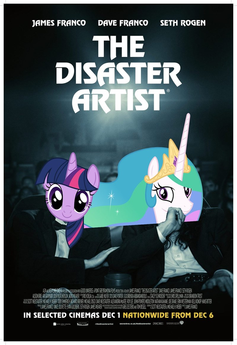 horse play tommy wiseau the room the disaster artist twilight sparkle ponify princess celestia - 9157003520