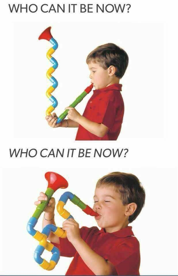Play - WHO CAN IT BE NOW? WHO CAN IT BE NOW?