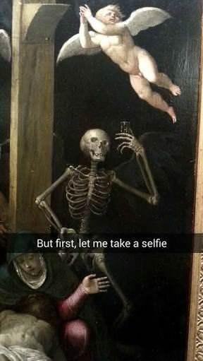 Skeleton - But first, let me take a selfie