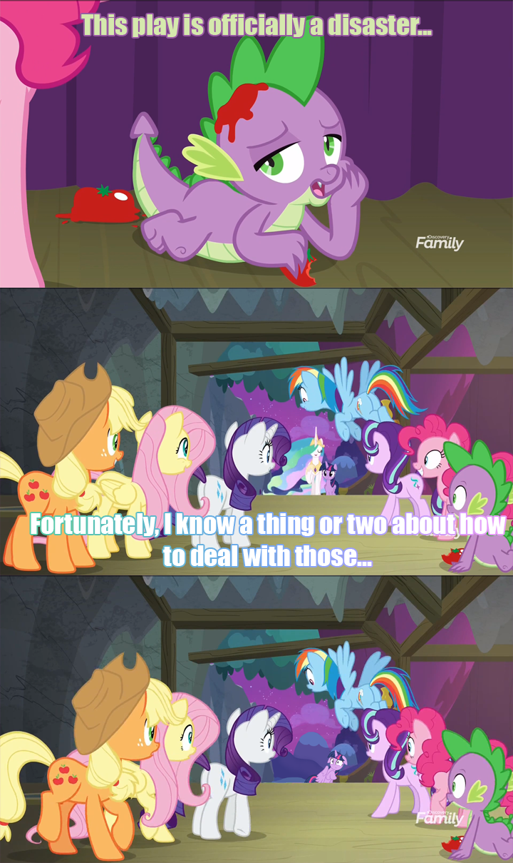 horse play spike twilight sparkle screencap comic princess celestia - 9157779712