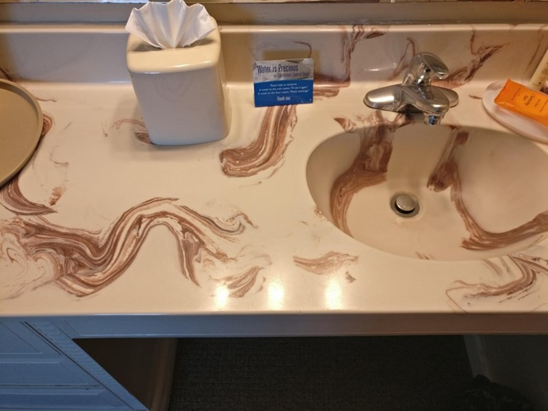 Countertop - Water is Precious That