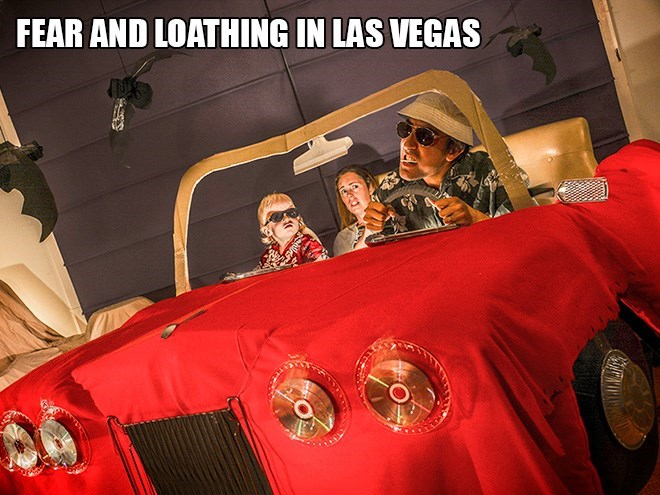 Red - FEAR AND LOATHING IN LAS VEGAS