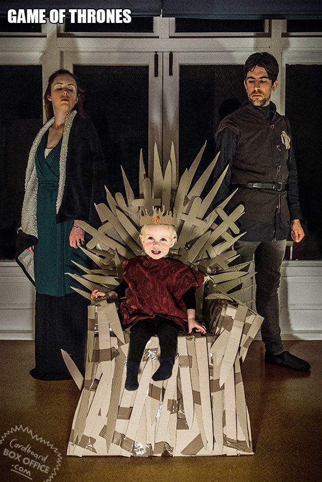 heater - GAME OF THRONES Cardboard BOX OFFICE COM