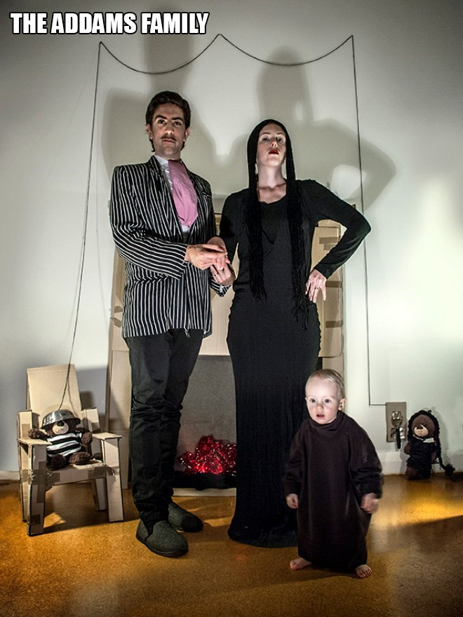 Fashion - THE ADDAMS FAMILY