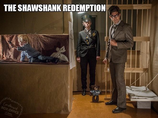 THE SHAWSHANK REDEMPTION Cardboard BOX OFFICE -COM