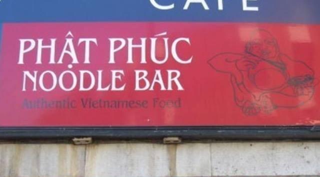 Font - PHAT PHÚC NOODLE BAR Authentic Vietnamese Food
