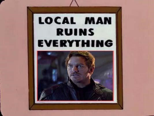 Text - LOCAL MAN RUINS EVERYTHING