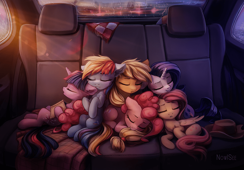 applejack twilight sparkle inowiseei pinkie pie rarity fluttershy rainbow dash - 9158459904
