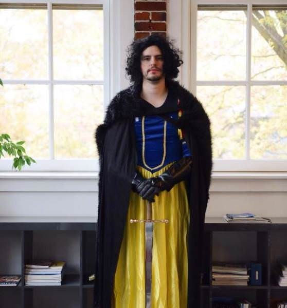 funny cosplay pun - Yellow