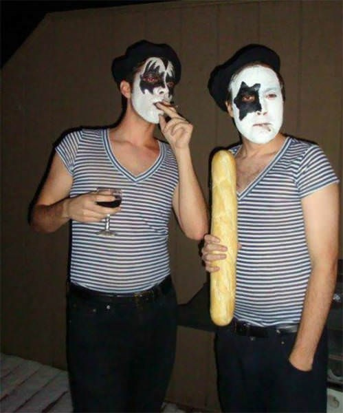 funny cosplay pun - Mime artist