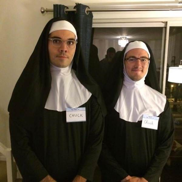 funny cosplay pun - Abbess - CHUCK ck
