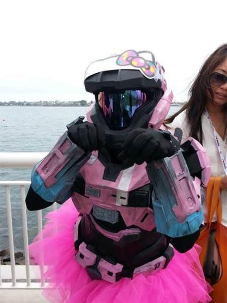 funny cosplay pun - Pink
