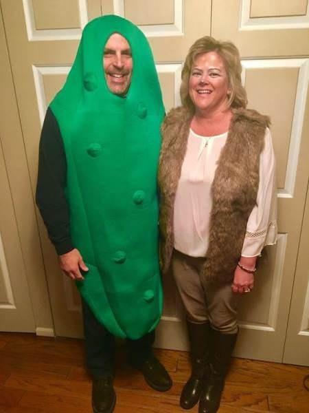 funny cosplay pun - Green