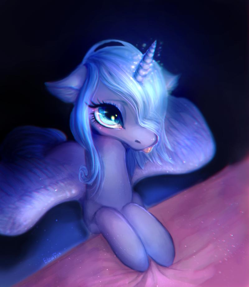 blep elza fox princess luna - 9159015936