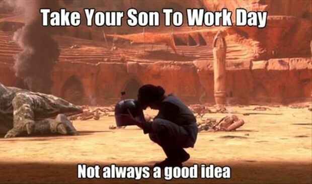Action-adventure game - Take Your Son To Work Day Not always a good idea