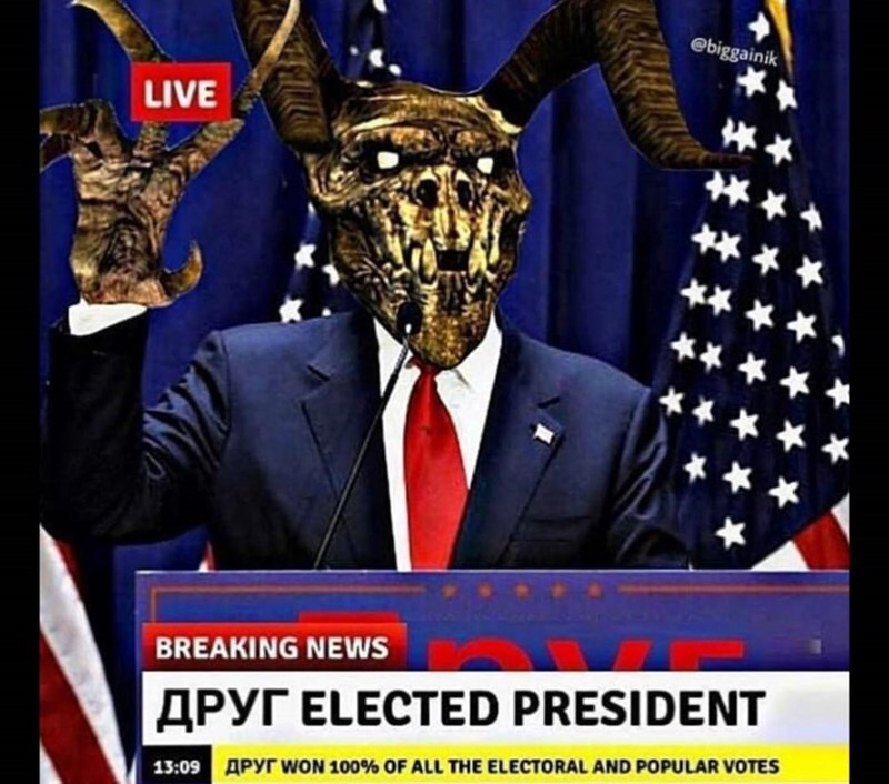 News - @biggainik LIVE BREAKING NEWS APYT ELECTED PRESIDENT 13:09 APyr woN 100% OF ALL THE ELECTORAL AND POPULAR VOTES