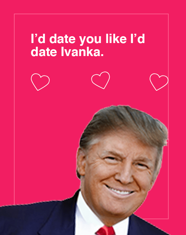 Dank meme about Donald Trump wanting to date his daughter
