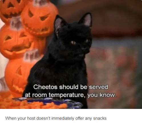 salem near pumpkin heads cheetos should we served at room temperature