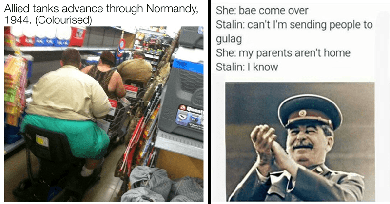 Funny, spicy and dank history memes.