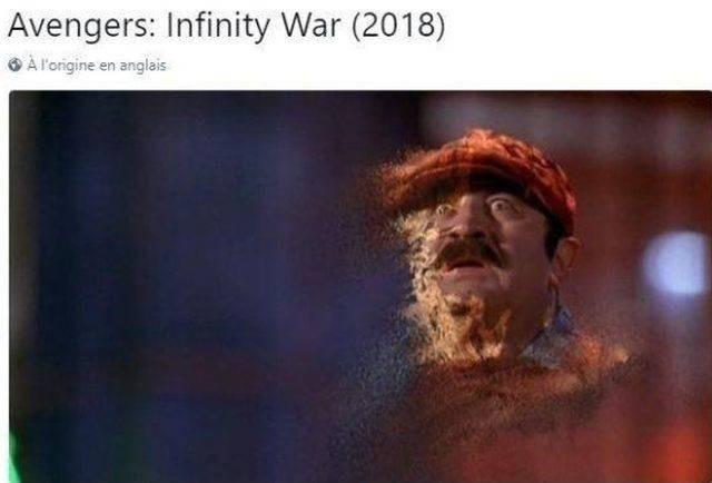 Text - Avengers: Infinity War (2018) A lorigine en anglais
