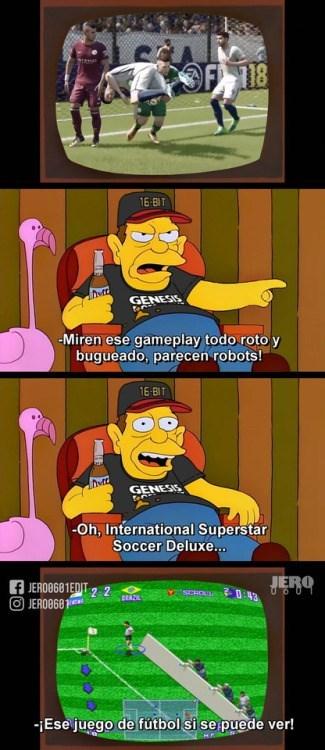 el pasado de los videojuegos simpre sera mejor