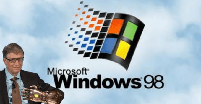 Rubik's cube - Microsoft Windows 98