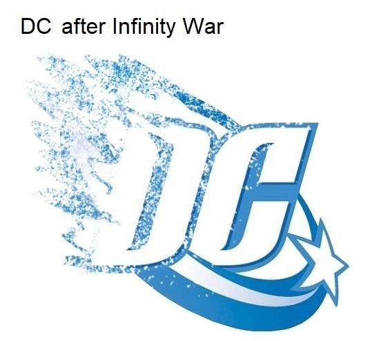 Text - DC after Infinity War