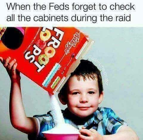 Child - When the Feds forget to check all the cabinets during the raid adan te.creato FROOT PS