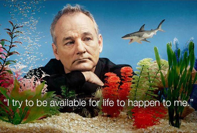 """Aquarium - """"I try to be available for life to happen to me."""""""