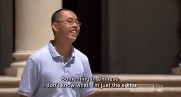 Speech - Something in Chinese I don't know what. I'm just the editor