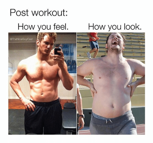 Barechested - Post workout: How you feel. How you look. TheNceGuyCast