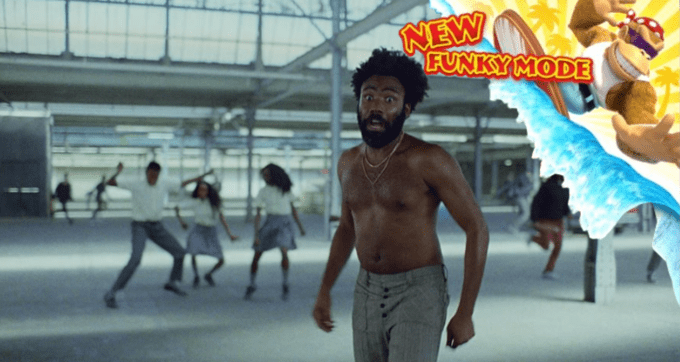 childish gambino this is america - Barechested - NEW FUNKYMODE