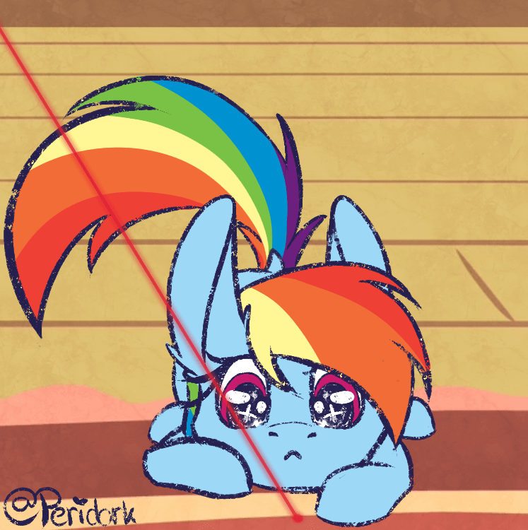 peridork acting like animals rainbow dash - 9162214144