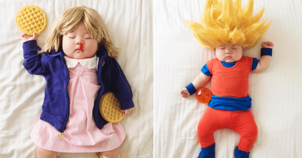 Babies cosplay kids parenting naptime - 916229