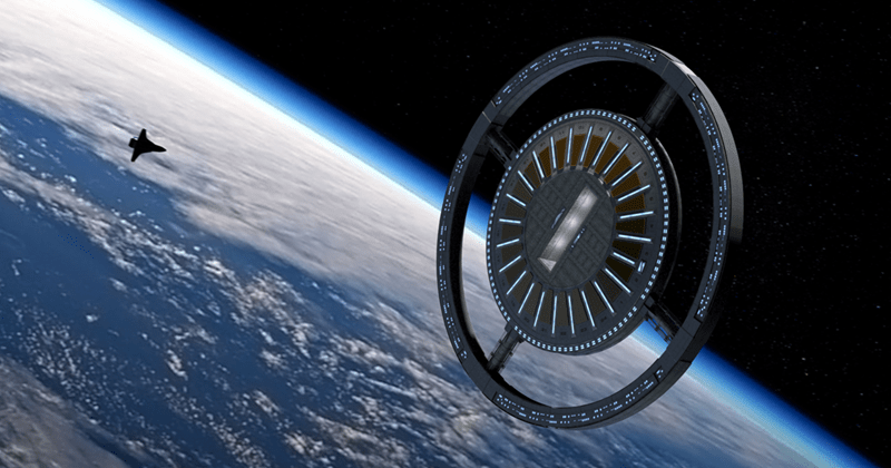 Company released rendering and designs for first commercial space station including five star hotel
