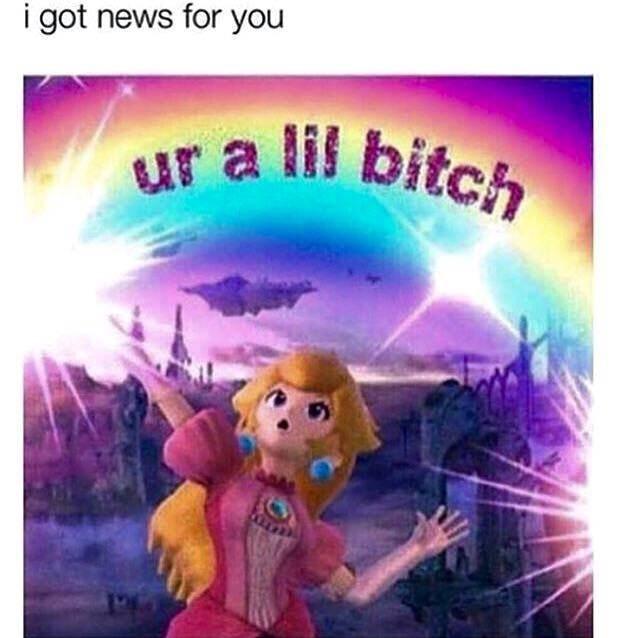dank pun - Cartoon - i got news for you ur a lif bitch