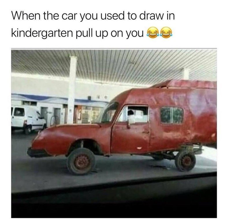 Funny meme about kids drawings