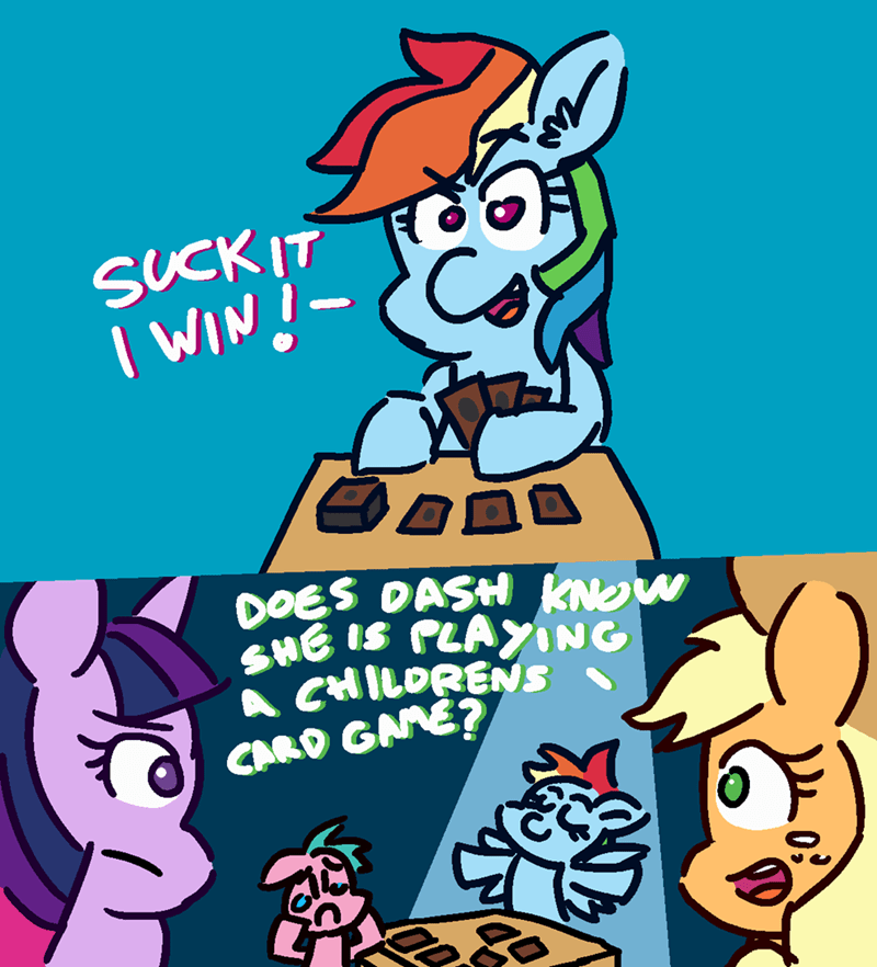 applejack magic the gathering twilight sparkle comic threetwotwo32232 rainbow dash - 9163024640