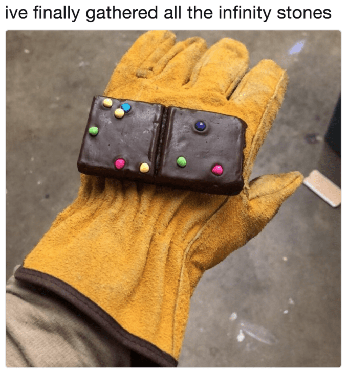 Glove - ive finally gathered all the infinity stones