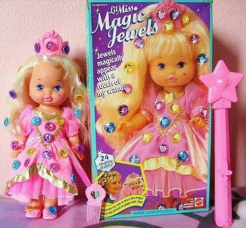 nostalgic - Doll - oAg Ove LMiss Magien Jewels Jewels magically appear witha touch of uy wand 24 sрartdy jewels Peoreyhr&dresse r my jewes iyour har, ta CAUTION