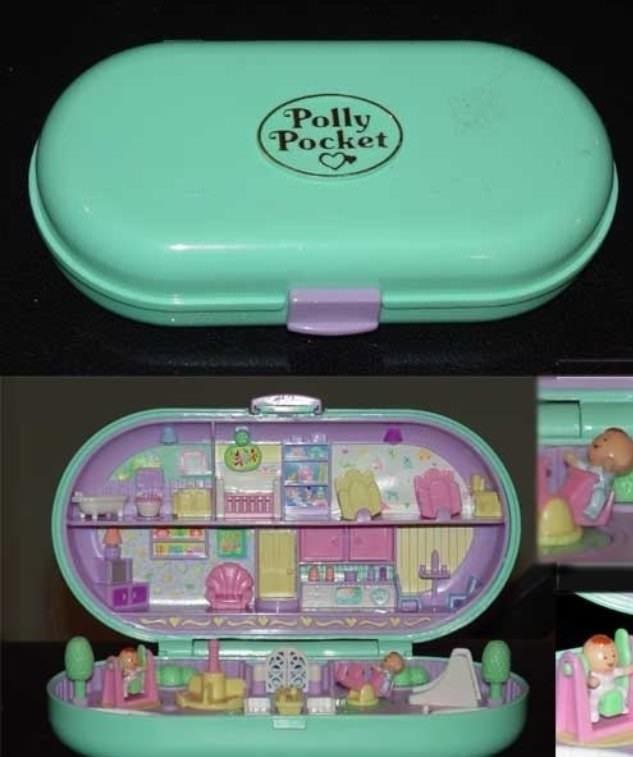 nostalgic - Plastic - Polly Pocket
