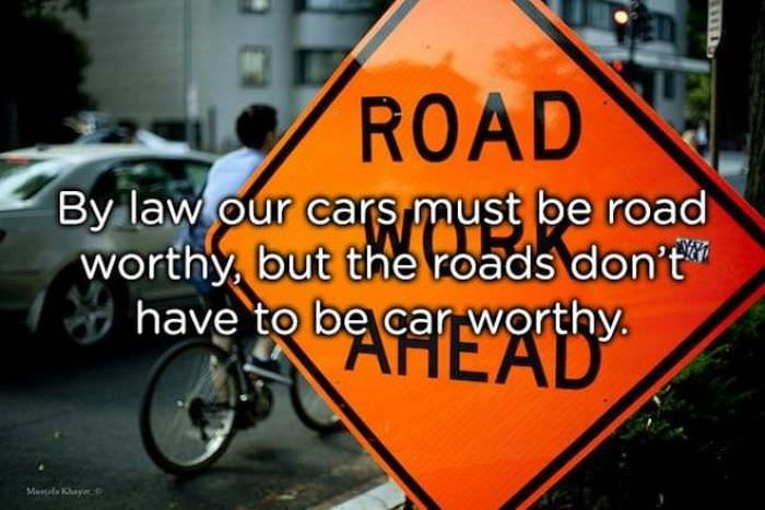 Motor vehicle - ROAD By law our cars must be road worthy but the roads don't have to be car worthy EAD Menals Khaya