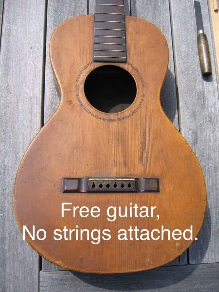 pun - Guitar - Free guitar, No strings attached