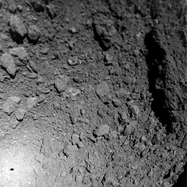 High definition photos of ryugu asteroid taken by MASCOT