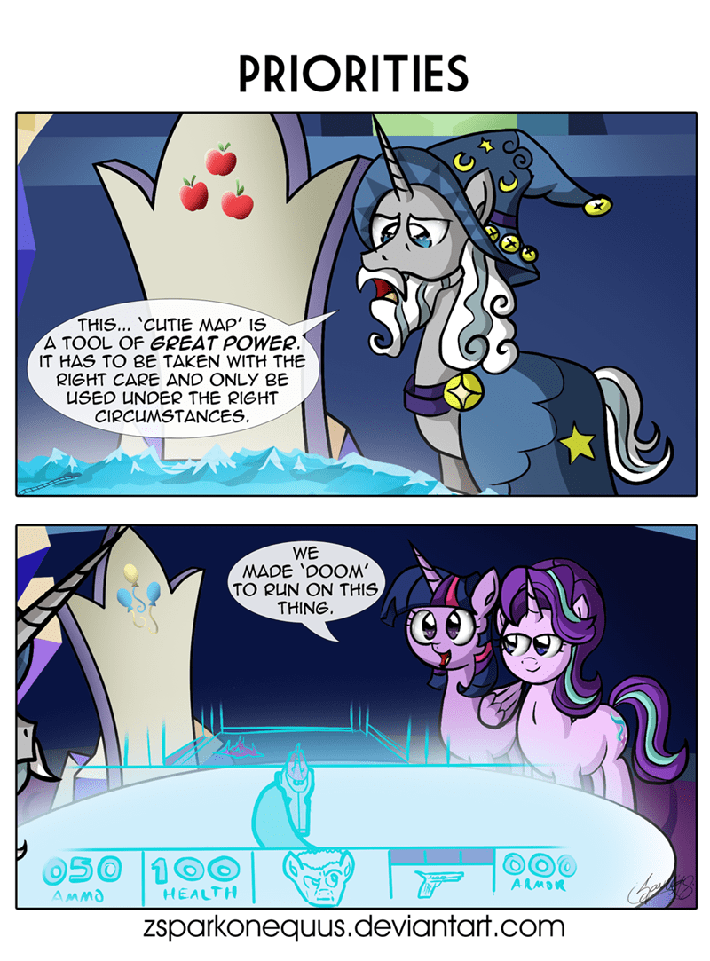 starswirl the bearded doom starlight glimmer twilight sparkle ponify comic zsparkonequus - 9164809984