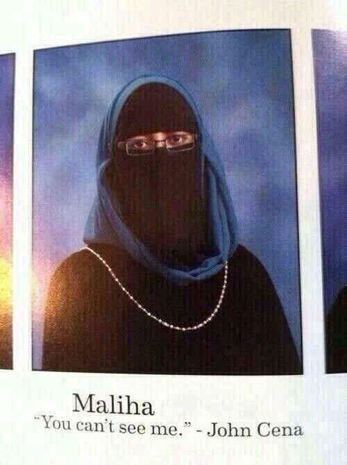 "Photography - Maliha ""You can't see me."" - John Cena"