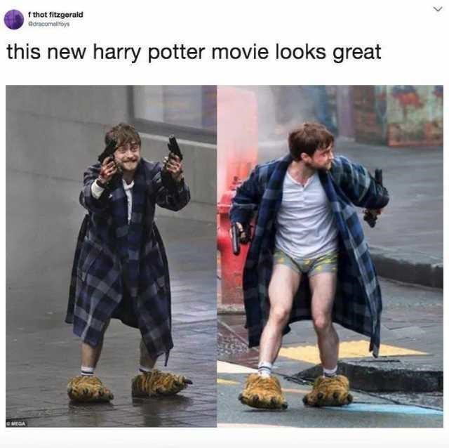 Fashion - f thot fitzgerald ddracomalifoys this new harry potter movie looks great euEGA