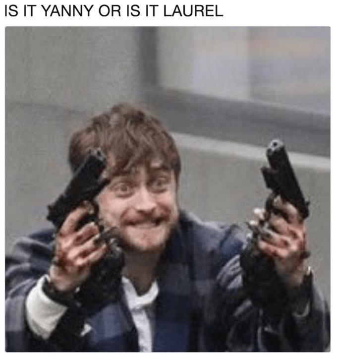 Gun - IS IT YANNY OR IS IT LAUREL