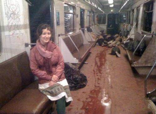 memes - Transport with bloody people on it