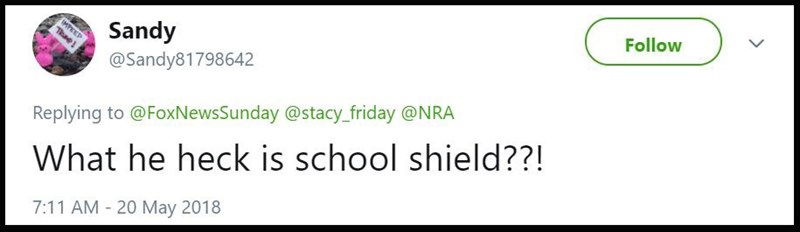 """""""What the heck is a school shield??"""""""